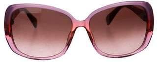 Diane von Furstenberg Elena Gradient Sunglasses