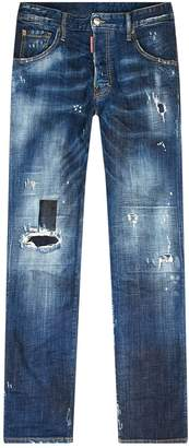 DSQUARED2 Run Dan Distressed Jeans