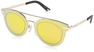 Police Men's Spl349 Oval Sunglasses