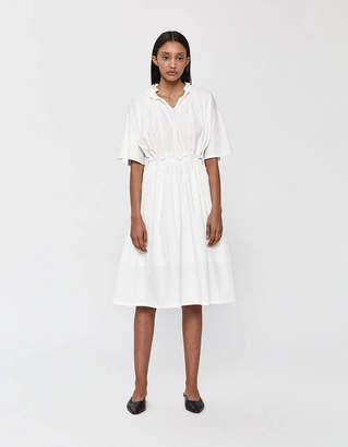 Neul Short Sleeve Ruffle Neck Dress
