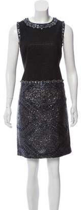 Andrew Gn Embellished Knee-Length Dress