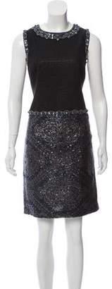 Andrew Gn Embellished Knee-Length Dress