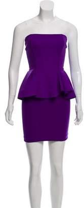 Torn By Ronny Kobo Strapless Mini Dress