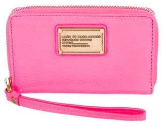 Marc by Marc Jacobs Neon Leather Wristlet