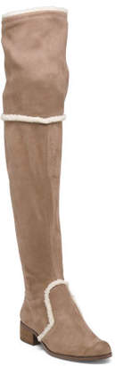 High Shaft Over The Knee Stretch Boots