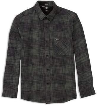 Volcom Boys' Buffalo Glitch Shirt - Big Kid