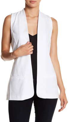 Kensie Crepe Vest $89 thestylecure.com