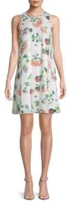 Calvin Klein Floral-Print Pullover Mini Dress