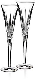 Lismore Diamond Toasting Flute, Set of 2