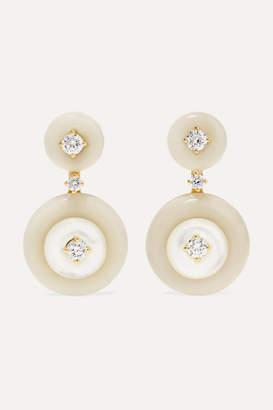 Fernando Jorge Signal Small 18-karat Gold Multi-stone Earrings