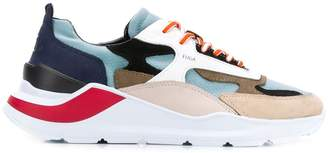 D.A.T.E chunky sole panelled sneakers