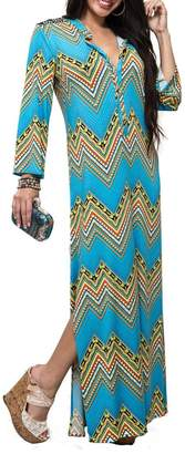 T-Bags LosAngeles Tbags Los Angeles Maxi Shirt Dress