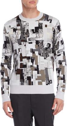 Jil Sander Printed Wool Sweater