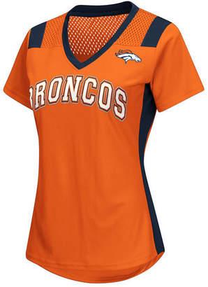 G-iii Sports Women's Denver Broncos Wildcard Jersey T-Shirt