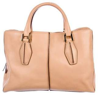 Tod's Leather Three Compartment Satchel