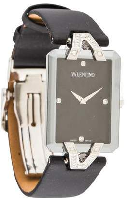 Valentino Gemme Rectangle Watch
