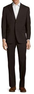 Tommy Hilfiger Wool-Blend Solid Suit