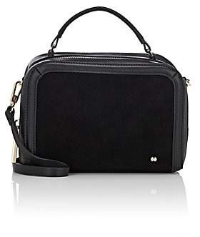 b5a44bc1e6 Halston WOMEN S SMALL LEATHER   SUEDE CAMERA BAG - BLACK