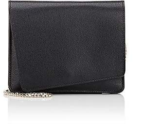 Valextra Women's Twist Mini Leather Crossbody - Black