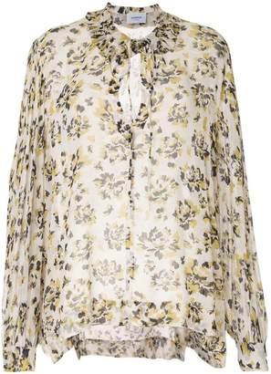 Dondup floral-print chiffon blouse