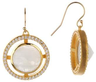 DEAN DAVIDSON Apex Crystal & Rainbow Moonstone Earrings