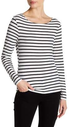 Frame Stripe Long Sleeve Tee