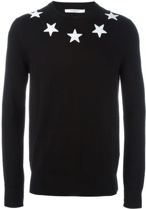 Givenchy star sweater $520 thestylecure.com