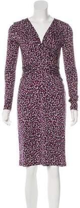 Tory Burch Printed Silk Dress