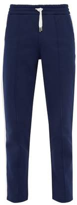 Ami Slim Leg Side Stripe Track Pants - Mens - Blue