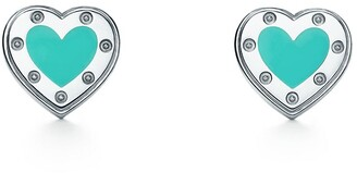 Tiffany Co Return To Tiffanytm Love Heart Earrings
