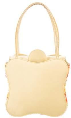 Renaud Pellegrino Satin Embellished Handbag