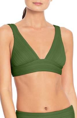Robin Piccone Lily V-Neck Bikini Top