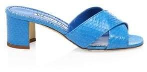 Women's Otawi Snake Sandals - Pink - Size 36.5 (6.5)
