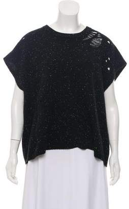 330ee7df4130 Black Cashmere Short Sleeve Sweaters - ShopStyle