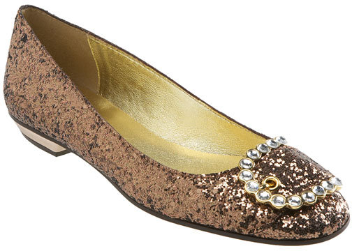 Juicy Couture 'Glitter' Flat