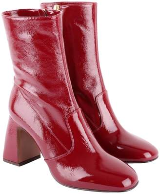 L'Autre Chose Patent Leather Boots