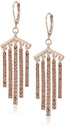 Kenneth Cole Stone Stick Fringe Drop Earrings