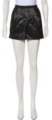 Vince Metallic Mini Skirt