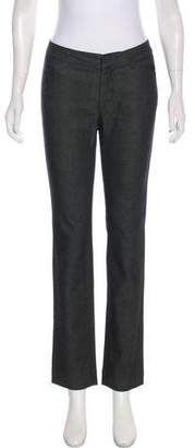 Christian Dior Mid-Rise Straight-Leg Jeans