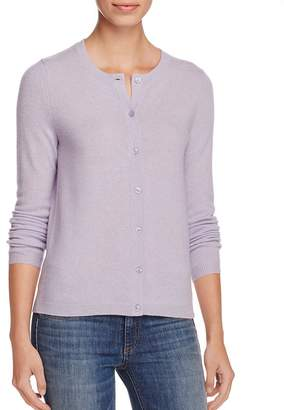 C By Bloomingdale's Cashmere Crewneck Cardigan - 100% Exclusive $168 thestylecure.com