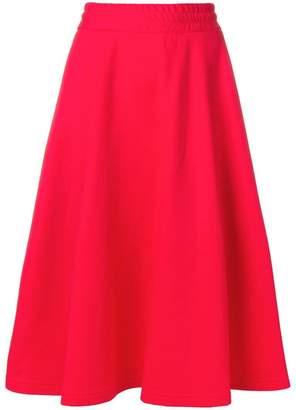 MSGM elasticated full skirt