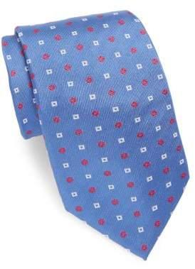 Brioni Rib-Knit Silk Tie