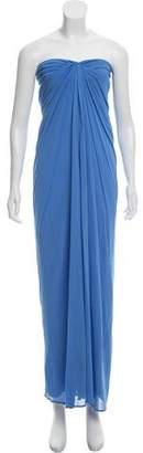 Yigal Azrouel Strapless Maxi Dress