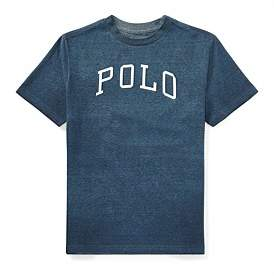 Polo Ralph Lauren Cotton-Blend Graphic T-Shirt(8-14 Years)