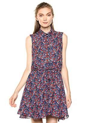 Parker Women's Jemma Sleeveless Collared Elastic Waist Dress