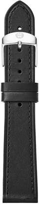 Michele Thin Calfskin Strap, 18mm