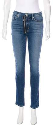 Hudson Mid-Rise Barbara Jeans w/ Tags