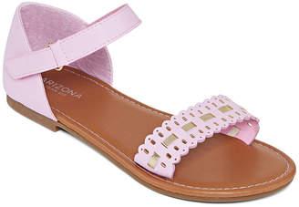0d170f5c4005 Arizona Little Kids Girls Butter Flat Sandals