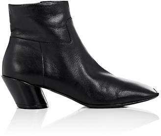 "Balenciaga WOMEN'S ""BROKEN HEEL"" LEATHER ANKLE BOOTS"