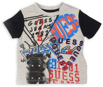 GUESS Boy's Graphic Short-Sleeve Tee